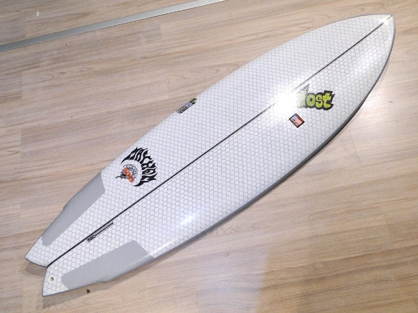 Lib Tech - X LOST ROUND NOSE FISH 5'8'' 5 Fins Nuova!