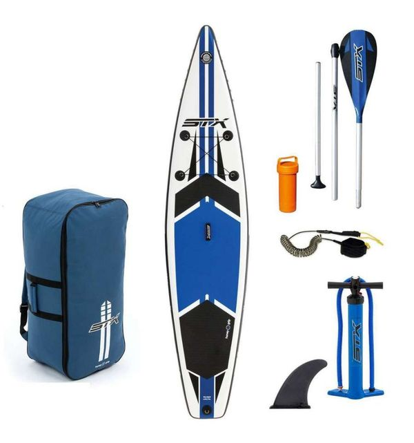 "altra - STX SUP Inflatable Race 12'6""x32"" Blue 2018"