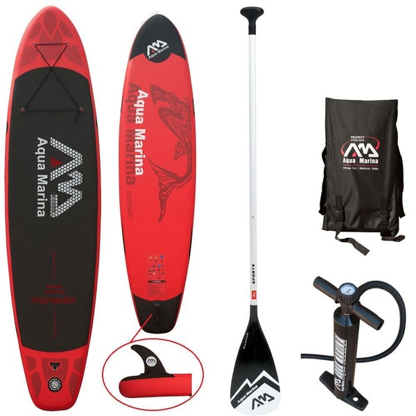 "altra - Aquamarina Monster 12'0"" Inflatable SUP Package"