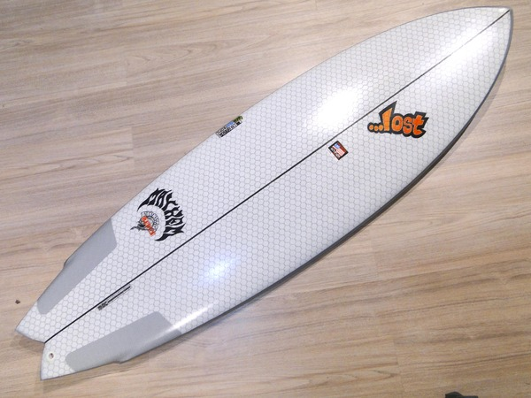 Lib Tech - X LOST ROUND NOSE FISH 5'10'' 5 Fins Nuova!