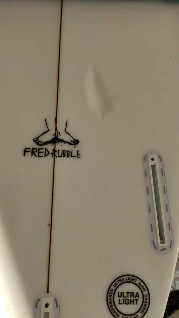 Channel Island - FRED RUBBLE