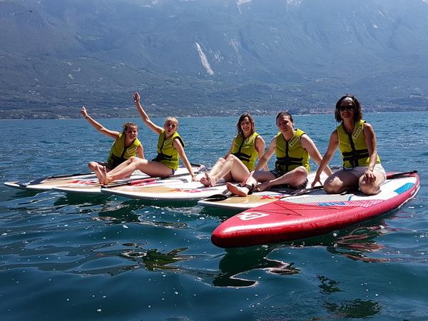 Fanatic - TOUR IN SUP lungo le rive del Lago di Garda!