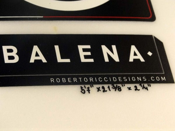 RRD - BALENA 5'7 Demo €280