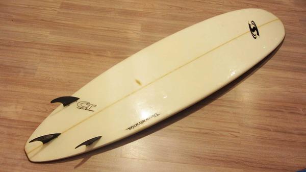 altra -  Tavola Surf Claudio Tadi Shaper FUN 7'5 Usata Buone Condizioni