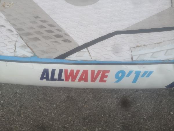 """Fanatic - Fanatic All wave 9'2""""x 32 anno 2013 160 litri"""